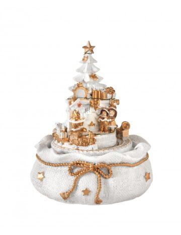 carillon cvon albero bianco brandani