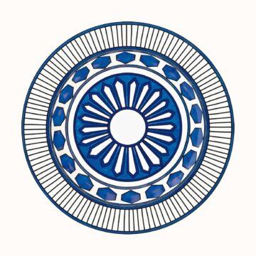 Bleus d'Ailleurs - piatto fondo hermes